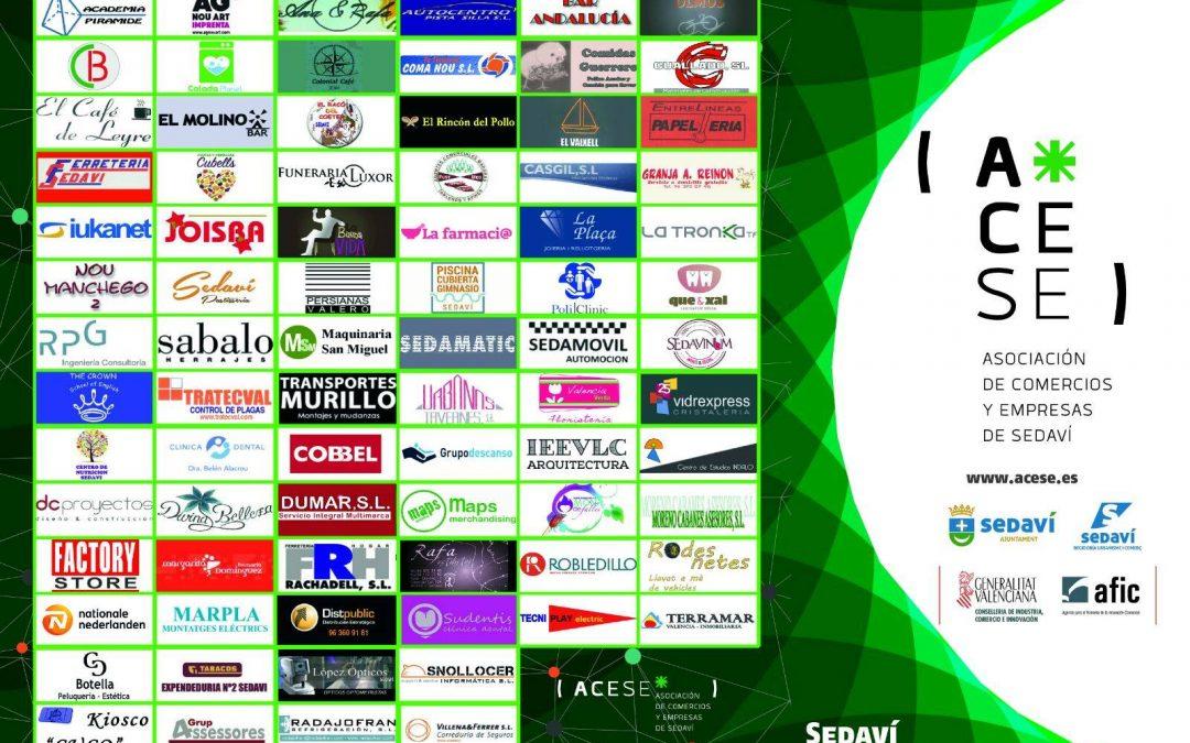 Diseñamos el Plano de Sedaví para la Asociación de Comercios y Empresas de Sedaví.